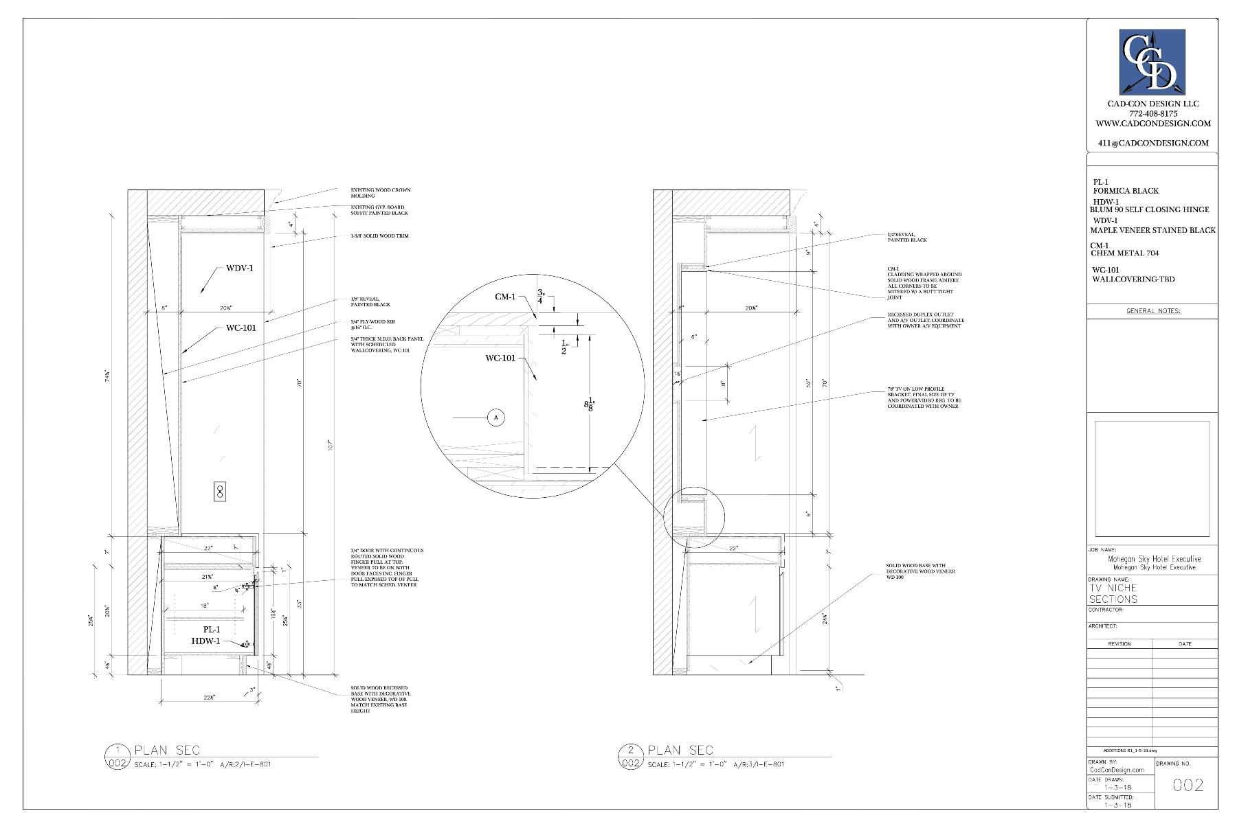 Millwork Shop Drawings 2018 - Millwork Shop Drawings By ...